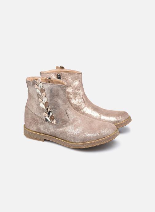 Bottines et boots Pom d Api Trip Rolls Ferns Or et bronze vue 3/4