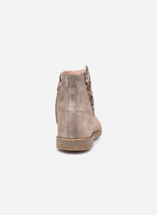 Bottines et boots Pom d Api Trip Rolls Ferns Or et bronze vue droite