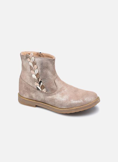 Bottines et boots Pom d Api Trip Rolls Ferns Or et bronze vue détail/paire