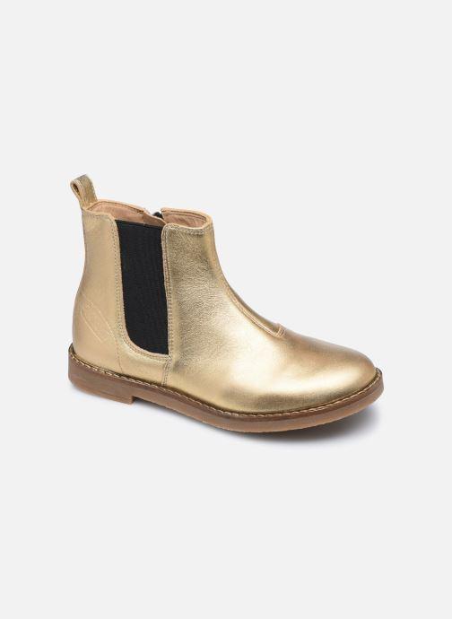 Bottines et boots Pom d Api Trip Chelsea Or et bronze vue détail/paire