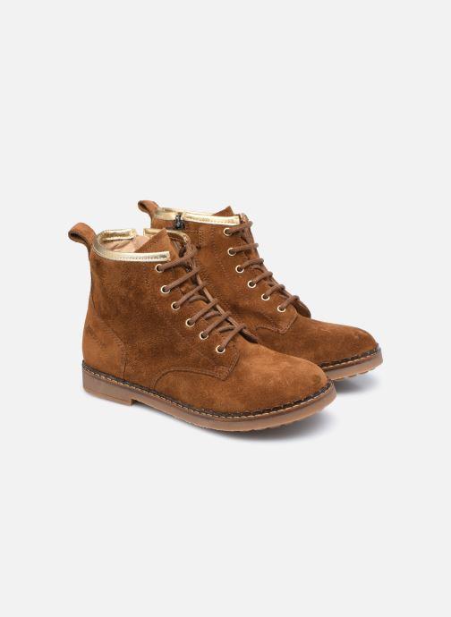 Boots en enkellaarsjes Pom d Api Ubac Boots Bruin 3/4'