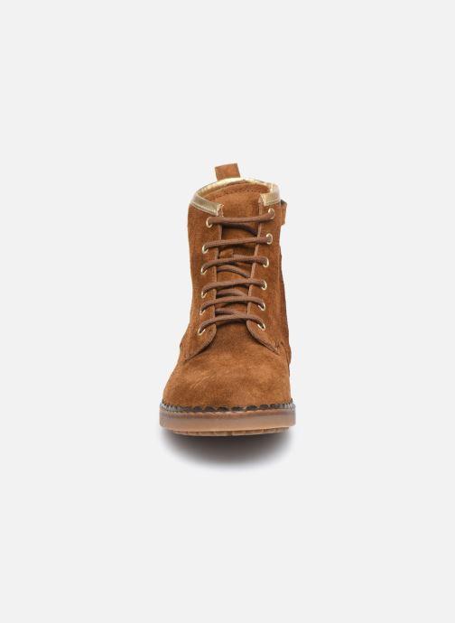 Boots en enkellaarsjes Pom d Api Ubac Boots Bruin model