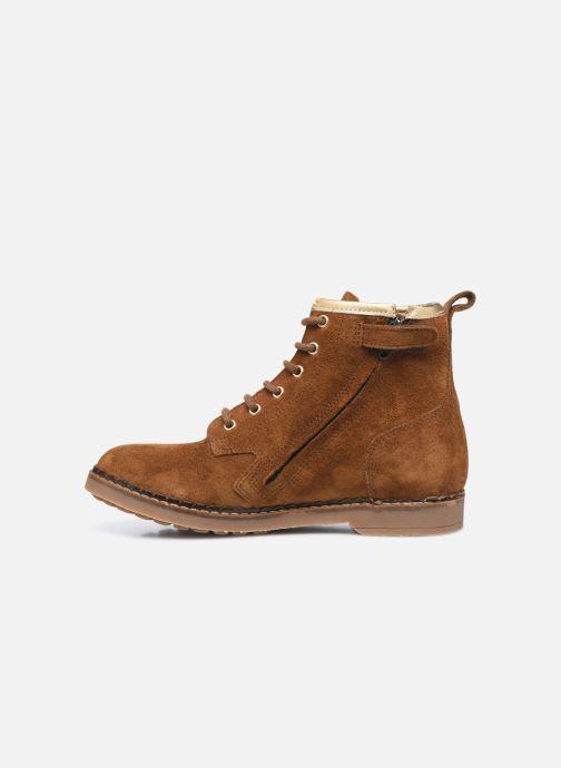 Boots en enkellaarsjes Pom d Api Ubac Boots Bruin voorkant