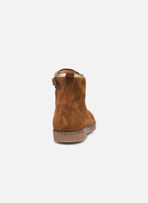 Boots en enkellaarsjes Pom d Api Ubac Boots Bruin rechts