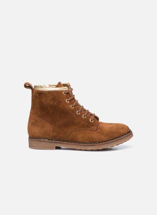 Boots en enkellaarsjes Pom d Api Ubac Boots Bruin achterkant