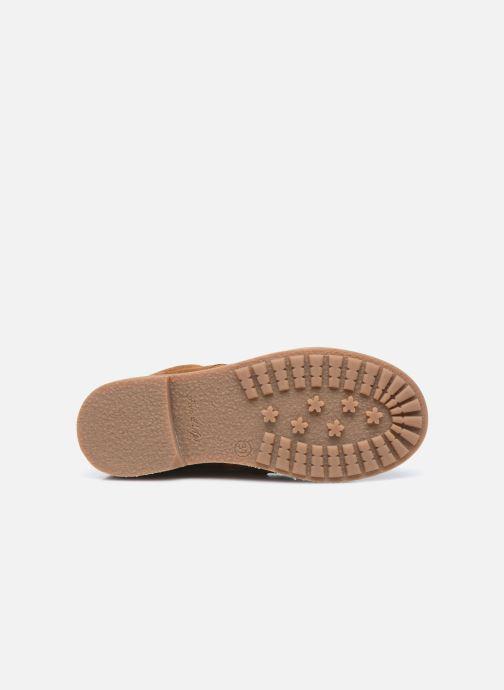 Boots en enkellaarsjes Pom d Api Ubac Boots Bruin boven