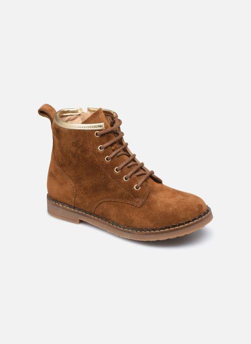 Boots en enkellaarsjes Pom d Api Ubac Boots Bruin detail