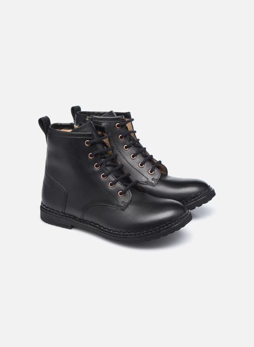 Bottines et boots Pom d Api Ubac Boots Noir vue 3/4