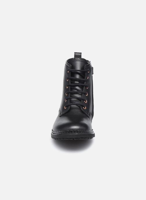 Stivaletti e tronchetti Pom d Api Ubac Boots Nero modello indossato