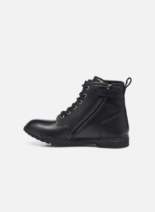 Boots en enkellaarsjes Pom d Api Ubac Boots Zwart voorkant