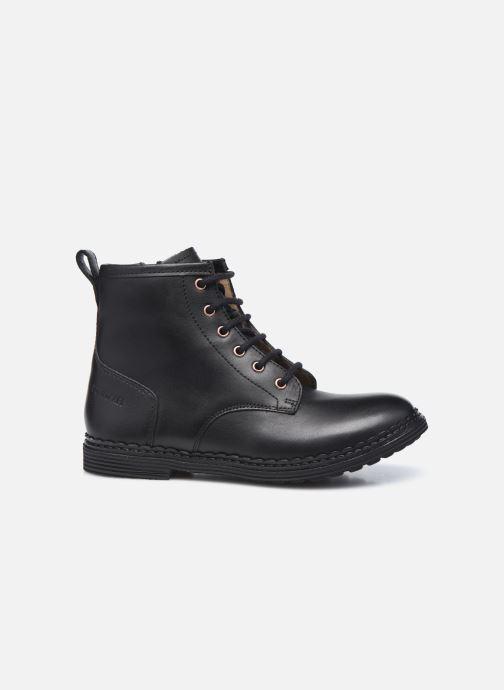 Botines  Pom d Api Ubac Boots Negro vistra trasera