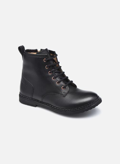 Boots en enkellaarsjes Pom d Api Ubac Boots Zwart detail