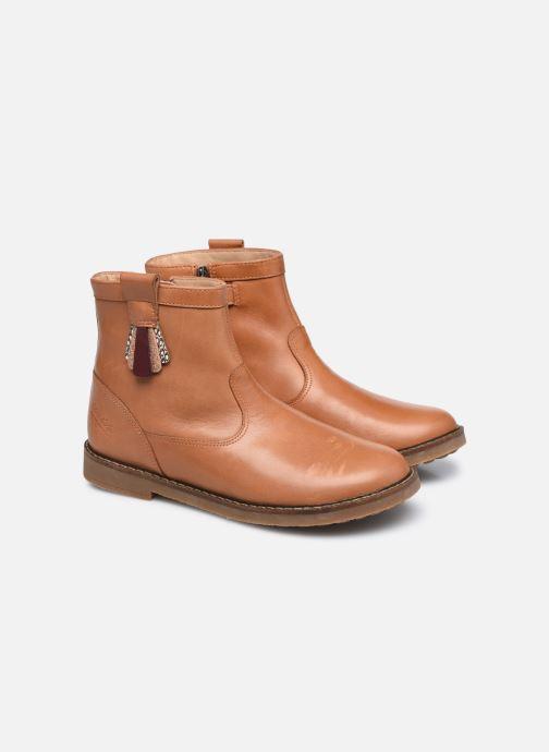 Bottines et boots Pom d Api Trip Arty Marron vue 3/4