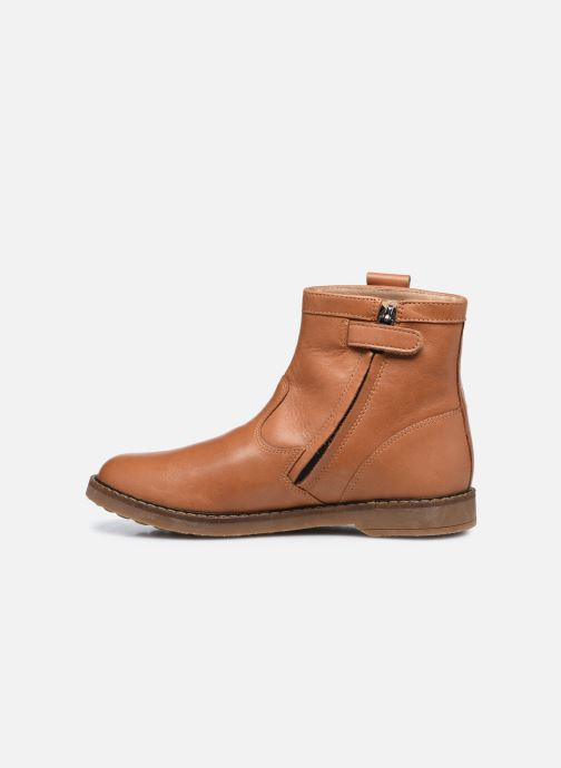 Stiefeletten & Boots Pom d Api Trip Arty braun ansicht von vorne