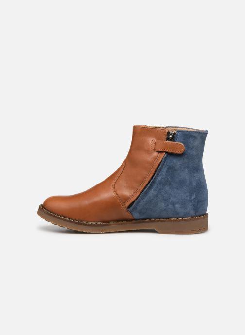 Stiefeletten & Boots Pom d Api Trip Elastek braun ansicht von vorne