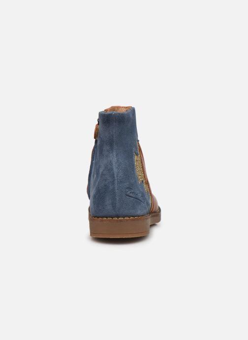 Bottines et boots Pom d Api Trip Elastek Marron vue droite
