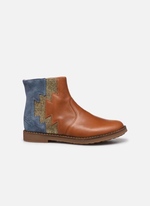 Bottines et boots Pom d Api Trip Elastek Marron vue derrière