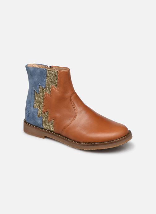 Bottines et boots Pom d Api Trip Elastek Marron vue détail/paire