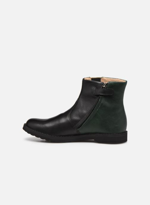 Bottines et boots Pom d Api Trip Elastek Noir vue face