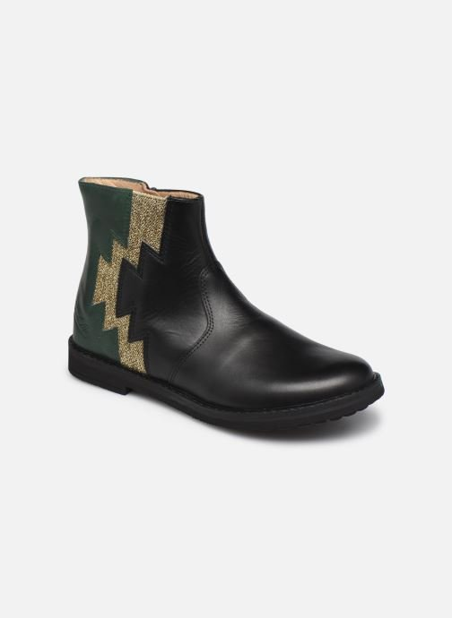 Boots en enkellaarsjes Pom d Api Trip Elastek Zwart detail