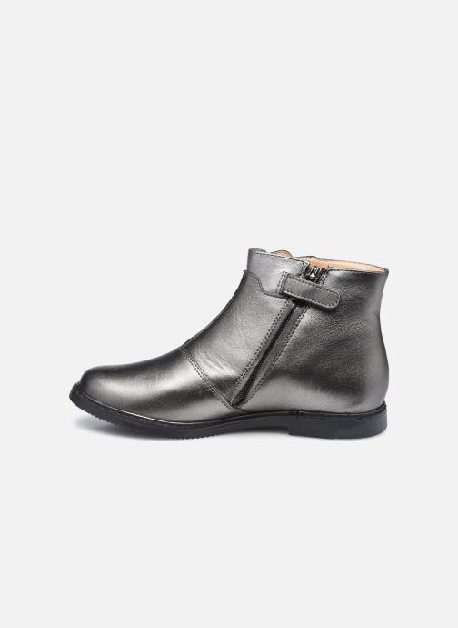 Bottines et boots Pom d Api City Paon Argent vue face