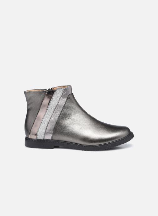 Stiefeletten & Boots Pom d Api City Paon silber ansicht von hinten