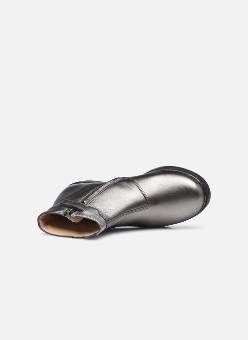 Stiefeletten & Boots Pom d Api City Paon silber ansicht von links