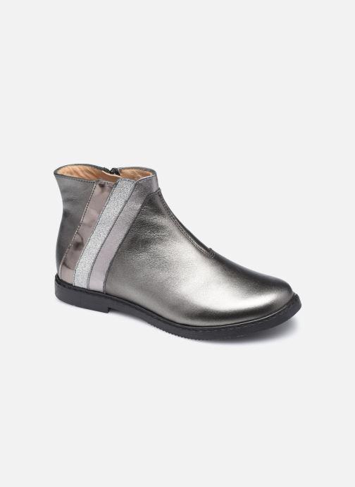 Bottines et boots Pom d Api City Paon Argent vue détail/paire