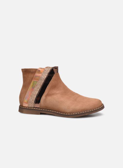 Bottines et boots Pom d Api City Paon Marron vue derrière