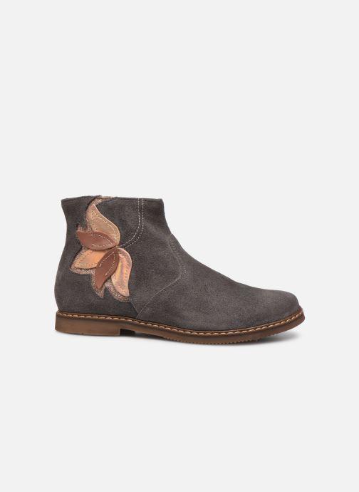 Stiefeletten & Boots Pom d Api City Flowers grau ansicht von hinten