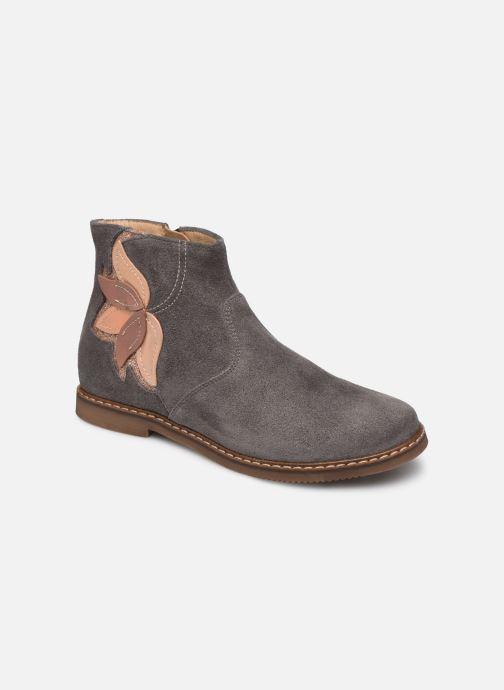 Boots en enkellaarsjes Pom d Api City Flowers Grijs detail