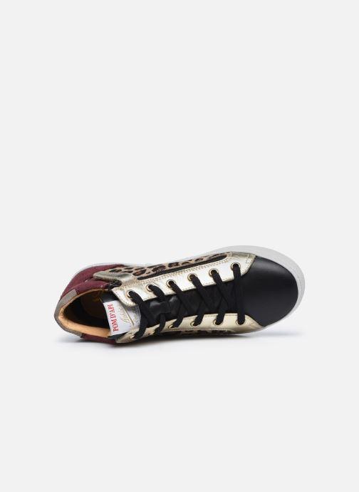 Sneakers Pom d Api Top Zip Lace Bruin links