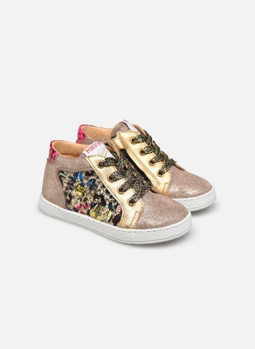 Sneakers Pom d Api Mouse Zip Top Multicolor 3/4'