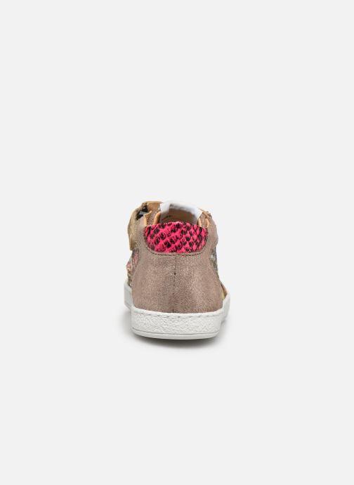 Baskets Pom d Api Mouse Zip Top Multicolore vue droite