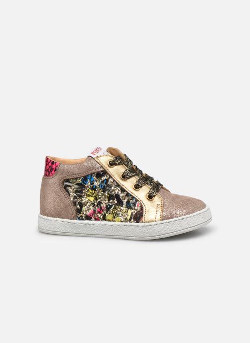 Sneakers Pom d Api Mouse Zip Top Multicolor achterkant