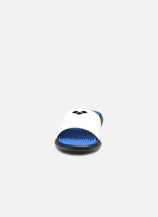 Sandali e scarpe aperte Arena Marco Box + Hook W Azzurro modello indossato