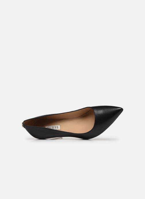 Zapatos de tacón Guess FL7DAE LEA08 Negro vista lateral izquierda