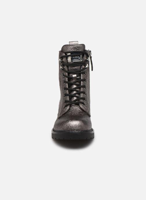 Bottines et boots Guess FL7TAI LEL10 Argent vue portées chaussures