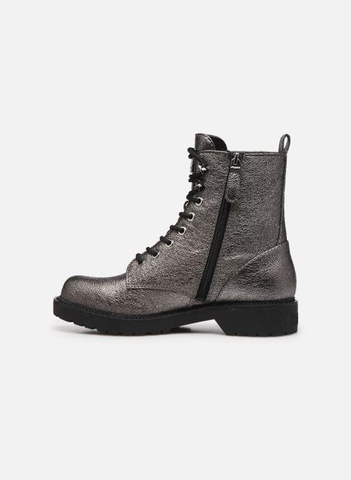 Boots en enkellaarsjes Guess FL7TAI LEL10 Zilver voorkant