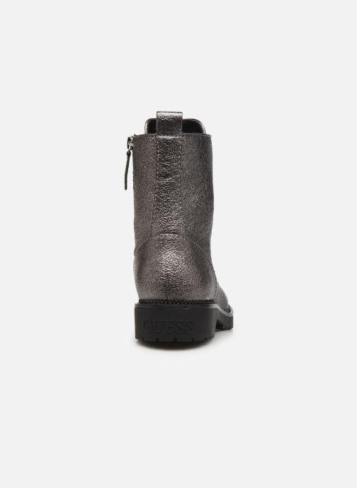 Bottines et boots Guess FL7TAI LEL10 Argent vue droite