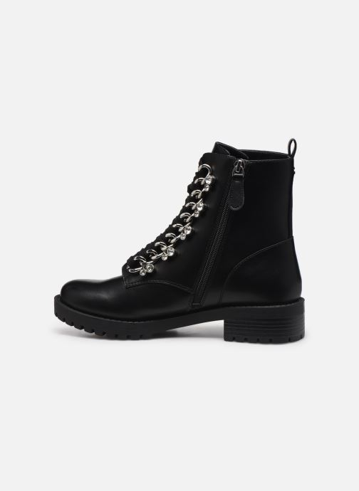 Bottines et boots Guess FL7HIE ELE10 Noir vue face