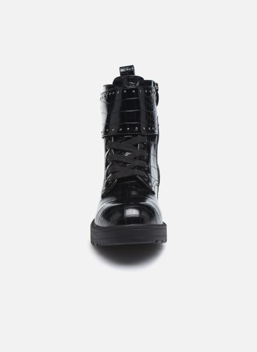 Botines  Guess FL7WAN PEL10 Negro vista del modelo