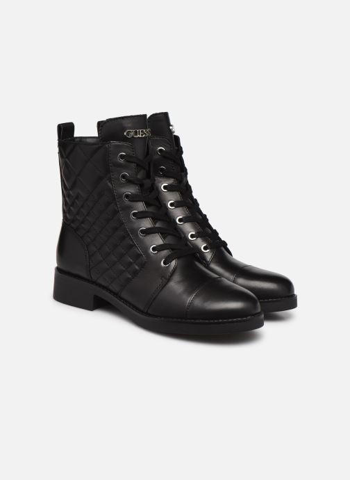 Bottines et boots Guess FL7BH2 LEA10 Noir vue 3/4