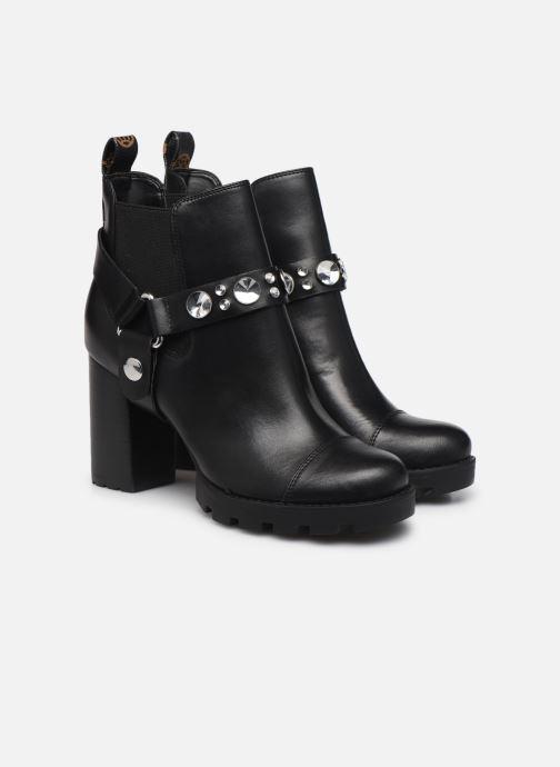 Bottines et boots Guess FL7REA ELE10 Noir vue 3/4