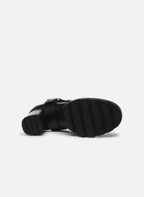 Bottines et boots Guess FL7REA ELE10 Noir vue haut