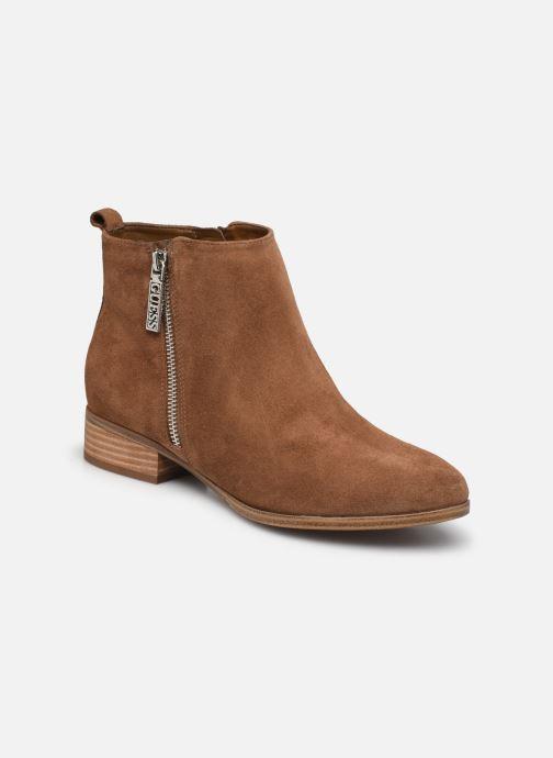 Bottines et boots Guess FL7VAY SUE10 Marron vue détail/paire