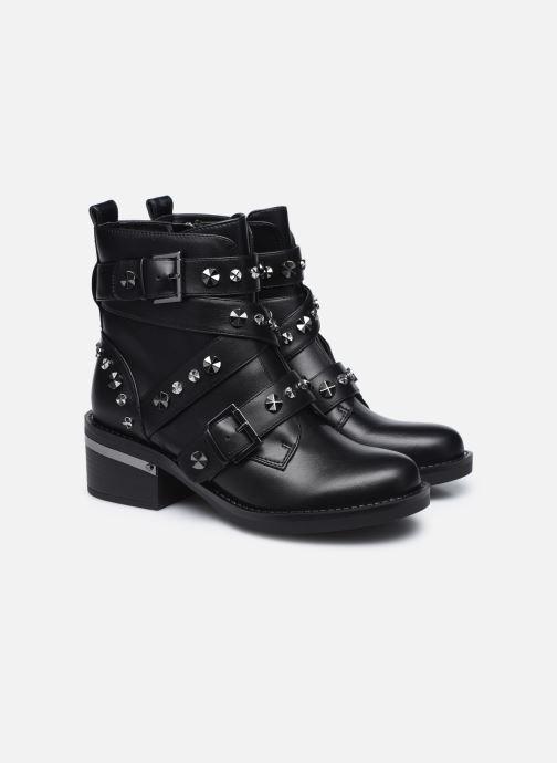 Bottines et boots Guess FLFNC4 ELE10 Noir vue 3/4