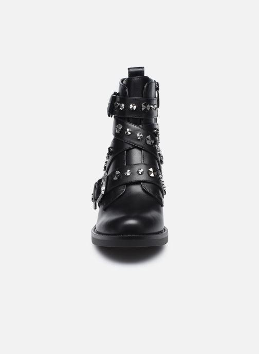 Bottines et boots Guess FLFNC4 ELE10 Noir vue portées chaussures