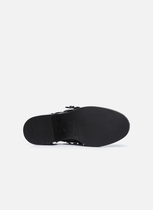 Bottines et boots Guess FLFNC4 ELE10 Noir vue haut