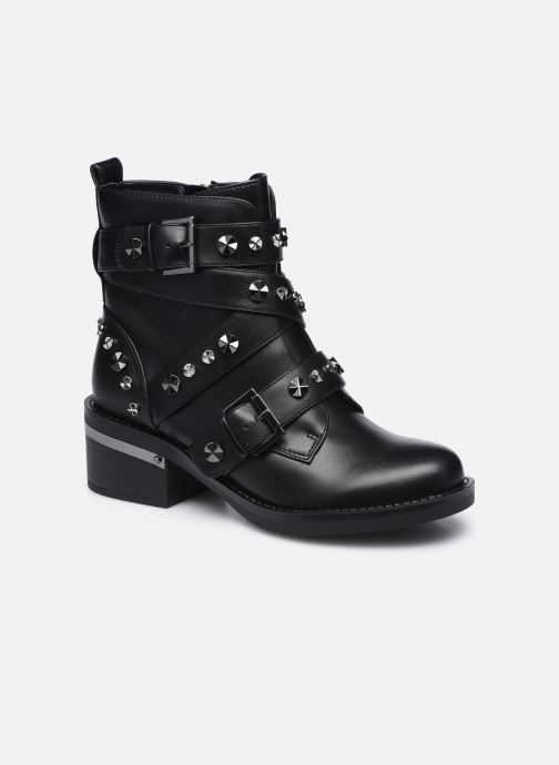 Bottines et boots Guess FLFNC4 ELE10 Noir vue détail/paire